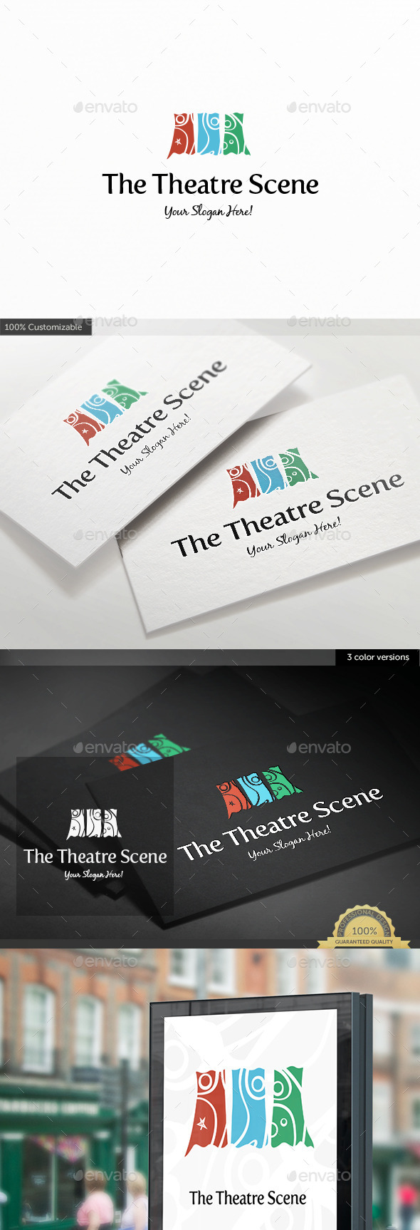 GraphicRiver Theatre Scene Logo Template 11329904