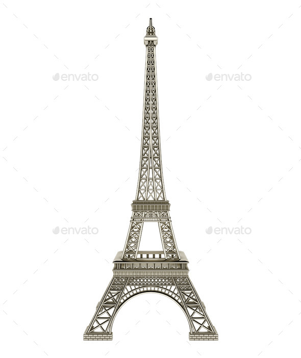 GraphicRiver Eiffel Tower 11330115