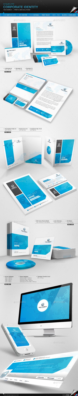 GraphicRiver Corporate Identity Tech World 11330377