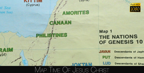 Map Time Of Jesus Christ 2