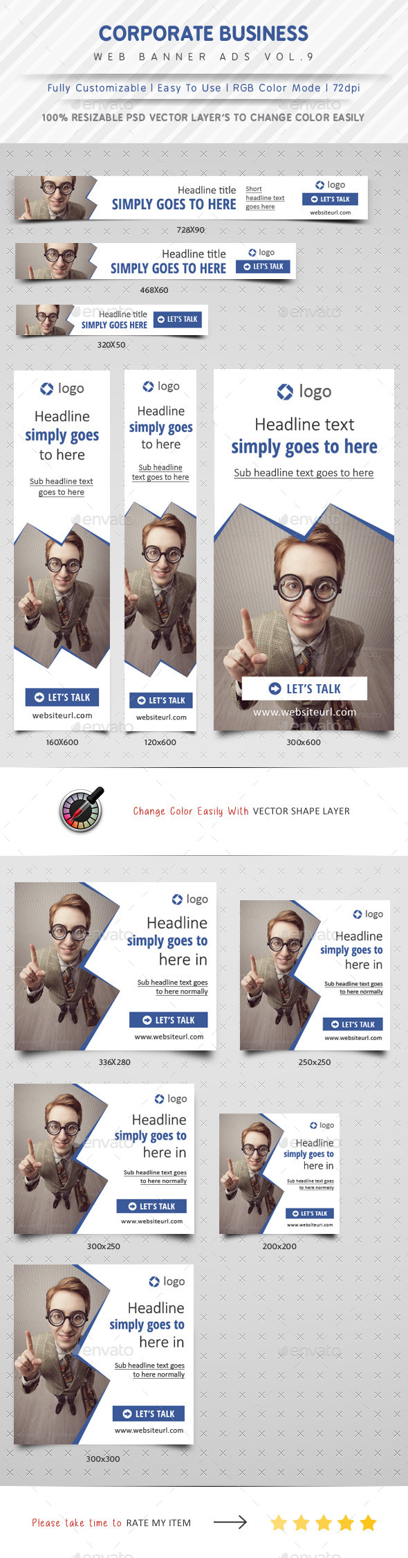 GraphicRiver Corporate Business Web Banner Ads Vol.9 11330685