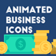 66 Animated Business Icons - VideoHive Item for Sale