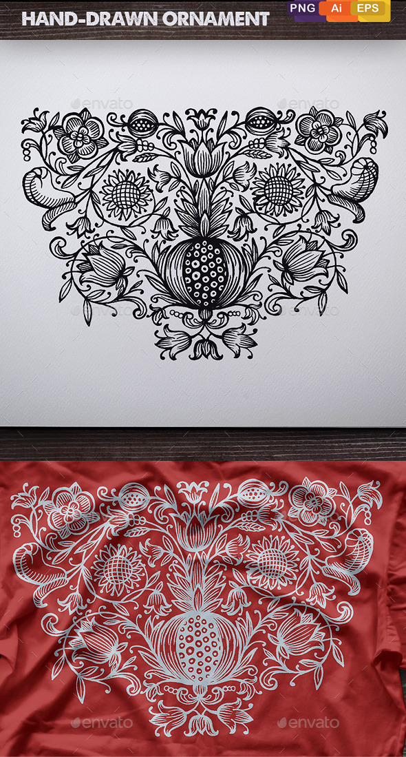 GraphicRiver Hand-Drawn Ornament 11331253