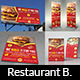 Restaurant Advertising Bundle Vol.4 - GraphicRiver Item for Sale