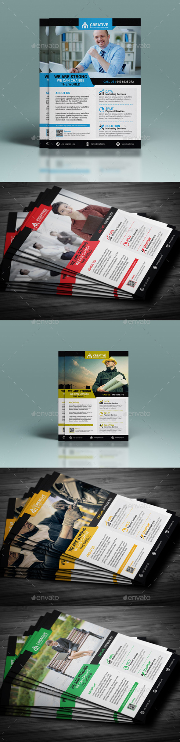 GraphicRiver Corporate Flyer Template 11331551