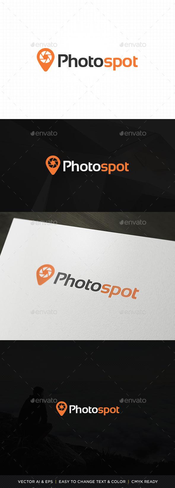 GraphicRiver Photo Spot Logo 11331728