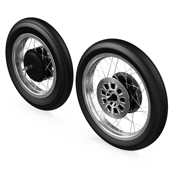 3DOcean Motorcycle Wheels 11332551