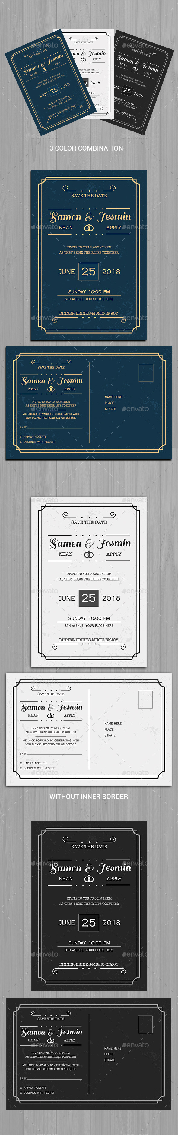 GraphicRiver Invitation & Post Card 11332753