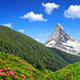 Matterhorn is a mountain in the Pennine Alps - PhotoDune Item for Sale