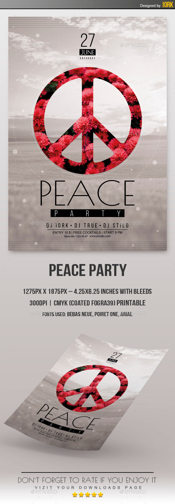 GraphicRiver Peace Party 11333161