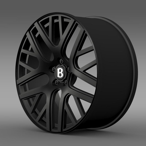 3DOcean Bentley Continental GT Speed rim 11333439