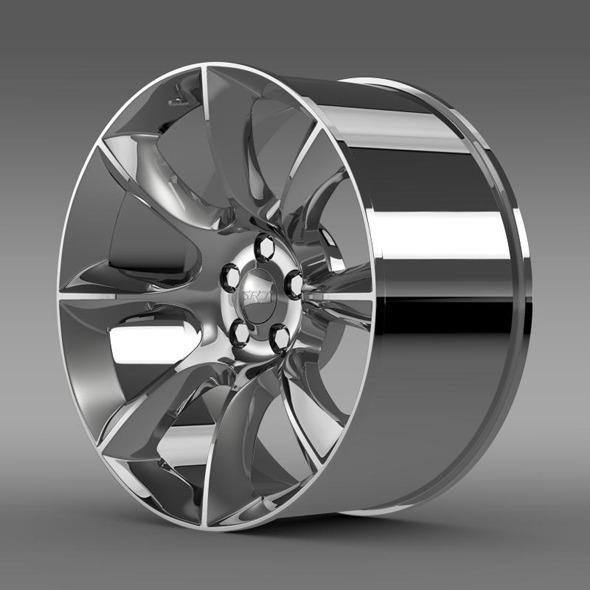 3DOcean Dodge Challenger SRT rim 11333442