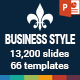 Business Style PowerPoint Presentation Template