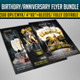 Birthday/ Anniversary Flyer Bundle