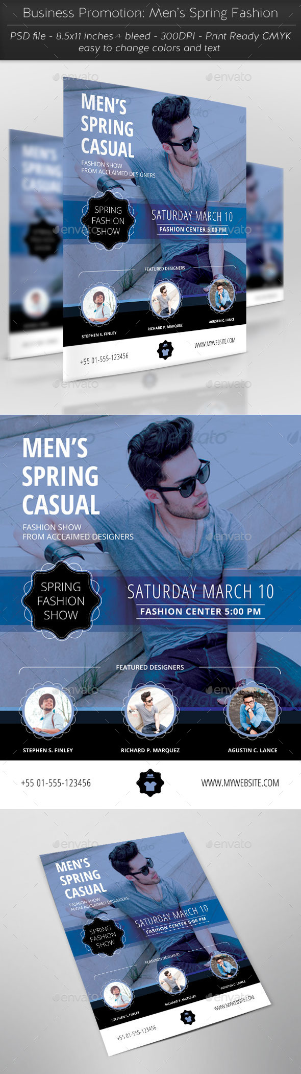 GraphicRiver Business Promotion Men's Spring Fashion 11334185