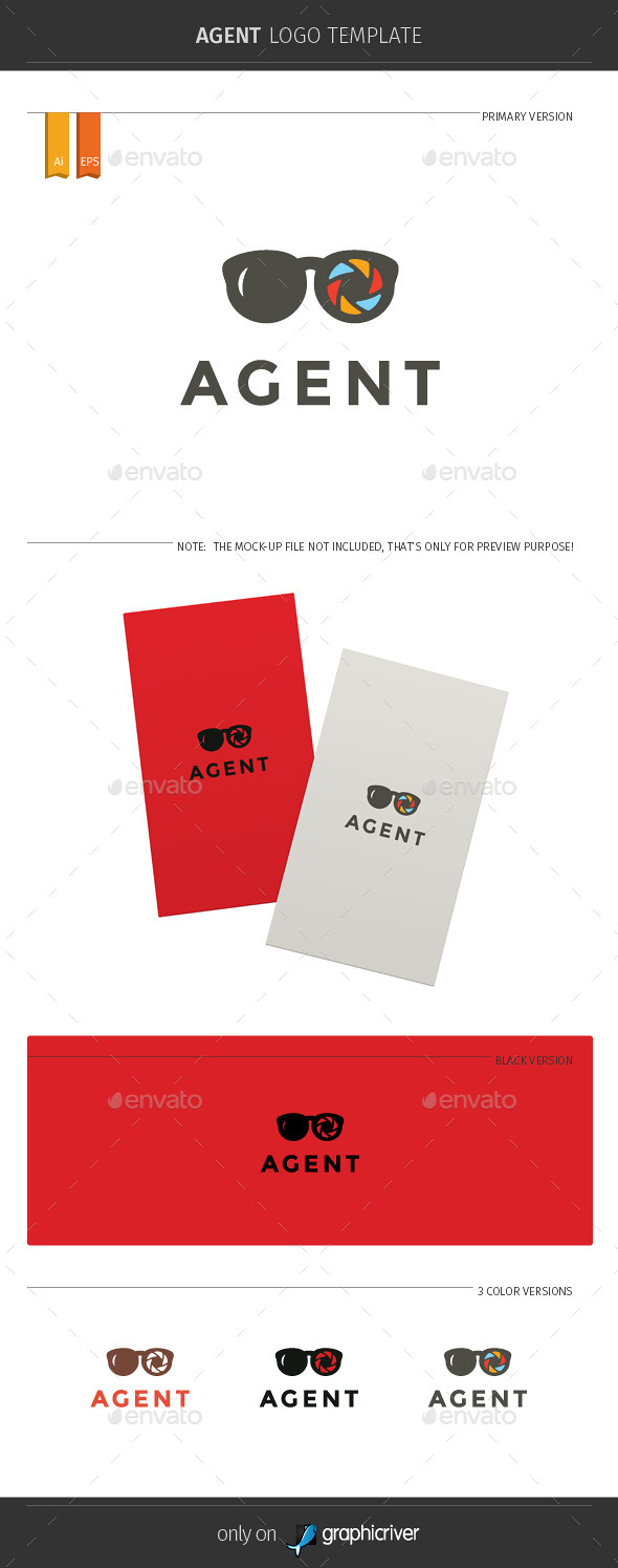 GraphicRiver Agent Logo Template 11334230