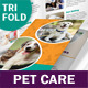 Pet Care Trifold Brochure - GraphicRiver Item for Sale