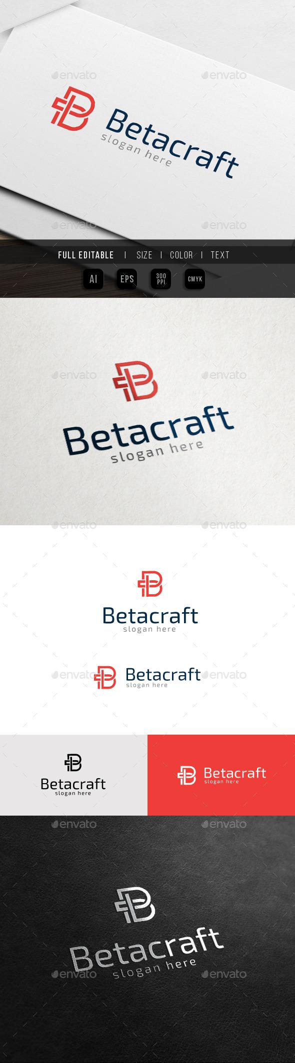 GraphicRiver Better Beta Best Brand B Logo 11334354