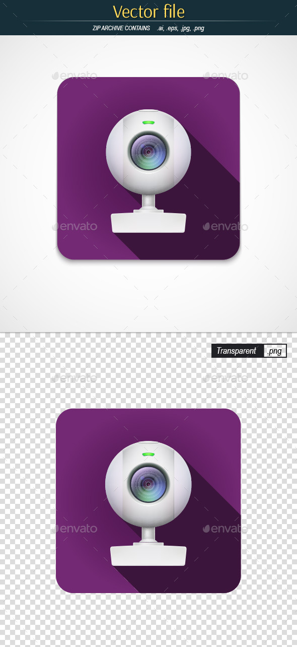 GraphicRiver Webcam Icon 11334600