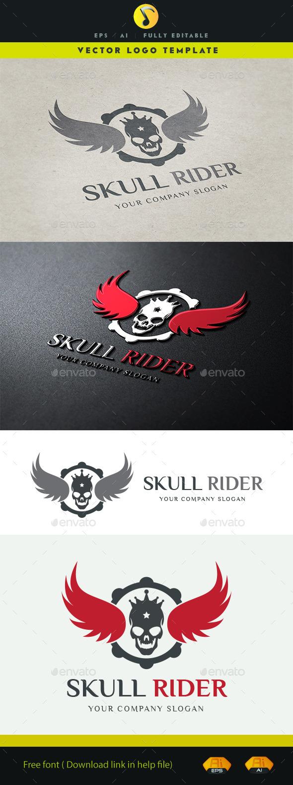 GraphicRiver Skull Rider 11334685