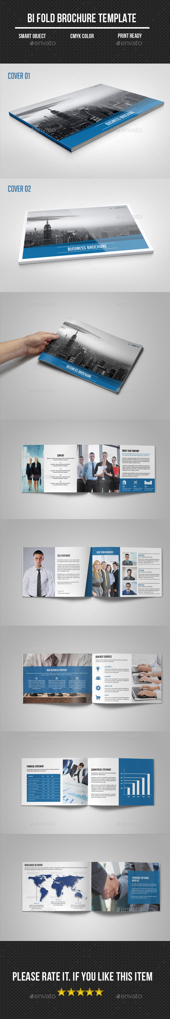 GraphicRiver Business Brochure Catalog 11334716