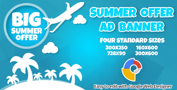 CodeCanyon Summer Offer Ad Banner 11335019