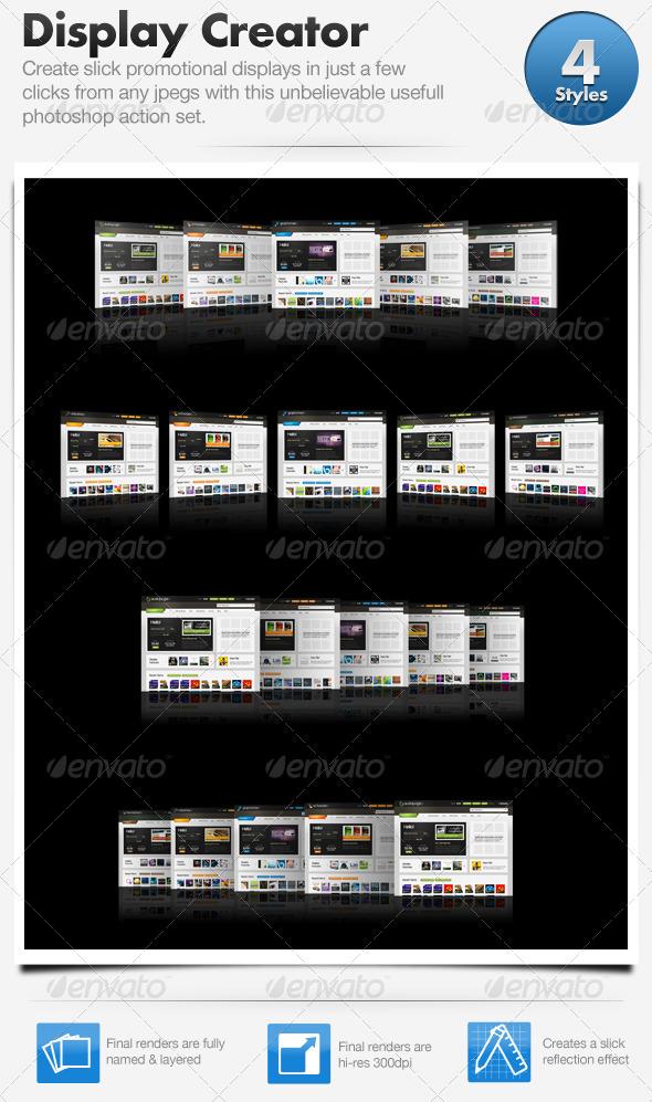 GraphicRiver Web Promo Display Creator 106445