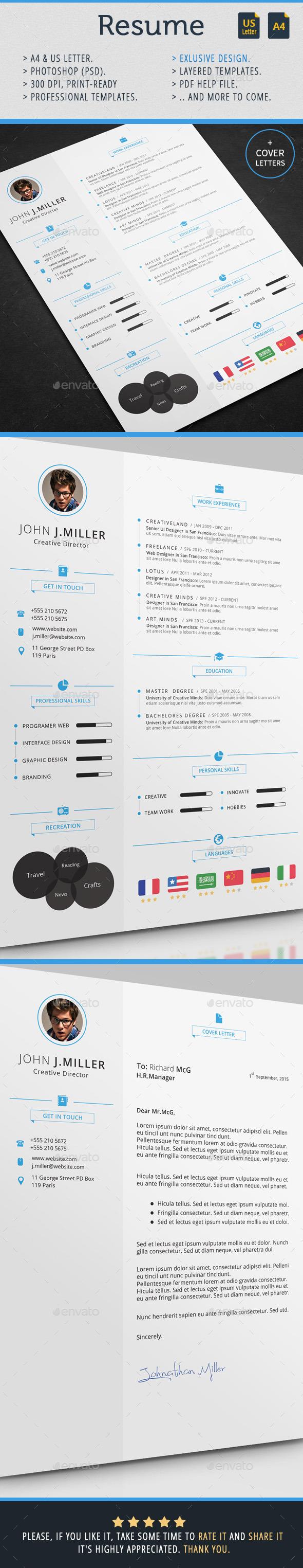 GraphicRiver Resume 11275592