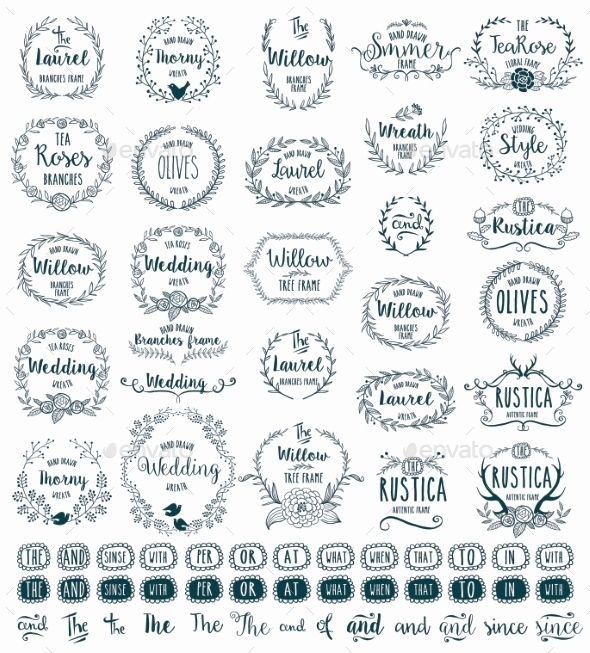 GraphicRiver Hand Drawn Frames 11335514