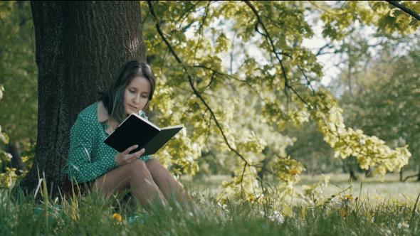 Girl Reading II