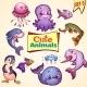 Set of Sea Animals - GraphicRiver Item for Sale