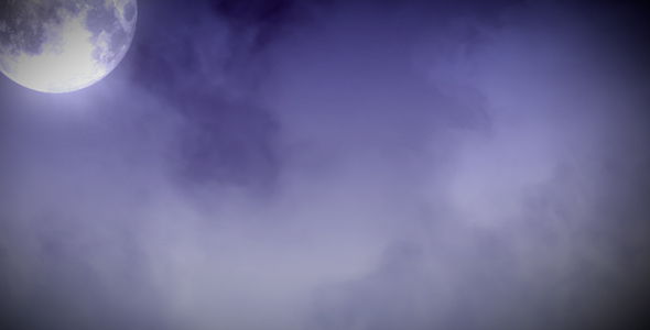 VideoHive Moon and Clouds 11784
