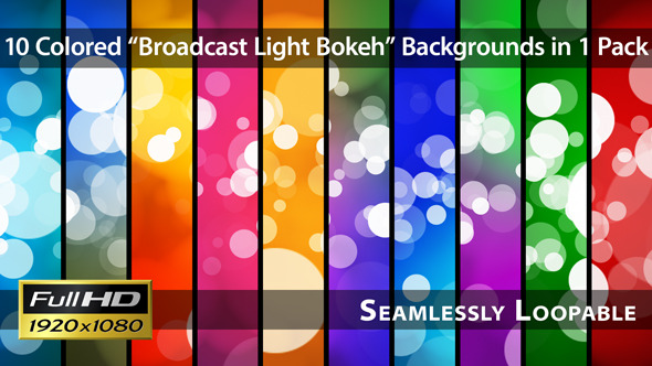 Broadcast Light Bokeh Pack 01