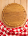 napkin and cutting board on wood - PhotoDune Item for Sale