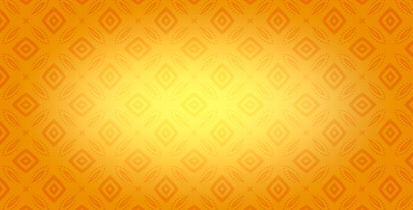 Oranssi Kaleidoscope - Retro Taustat Motion Graphics