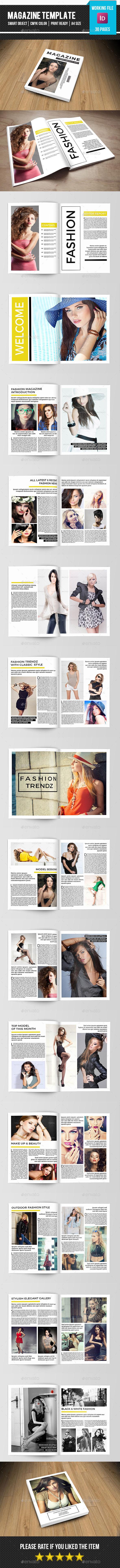 GraphicRiver Minimal Fashion Magazine-V10 11337363