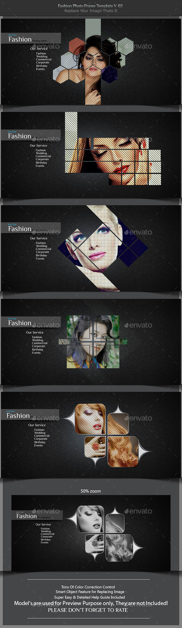 GraphicRiver Fashion Photo Frame Template v02 11337961