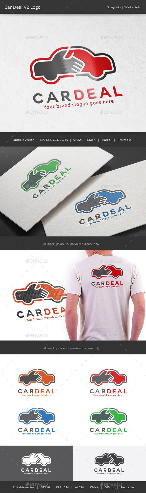GraphicRiver Car Deal V2 Logo 11338080