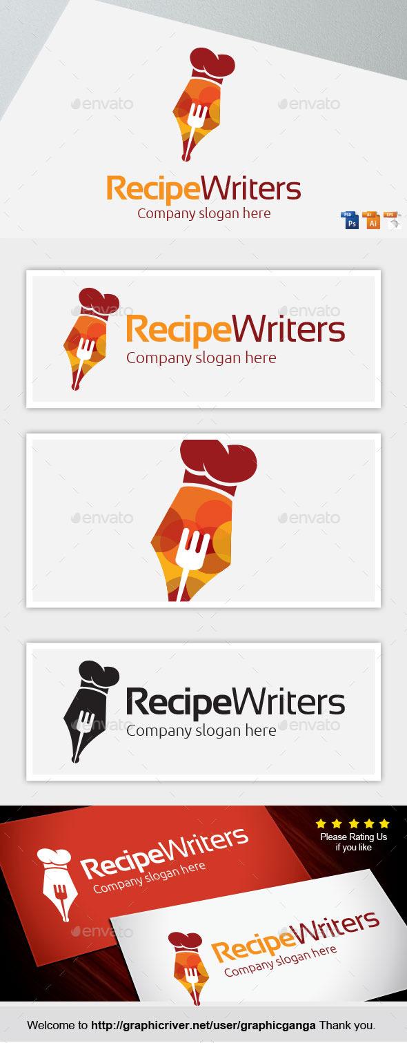 GraphicRiver Recipe Writers 11338091