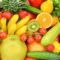 background of different fruits and vegetables - PhotoDune Item for Sale