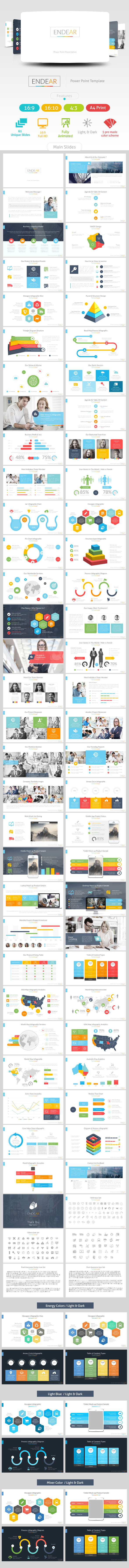 GraphicRiver Endear Power Point Presentation 11338335