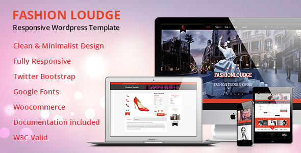ThemeForest Fashion Loudge WordPress Theme 10942906