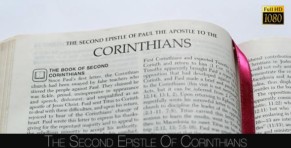 The Second Epistle Of Corinthians