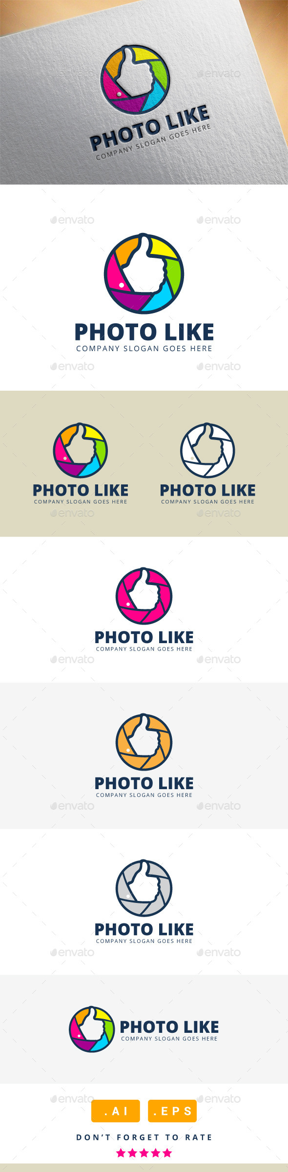 GraphicRiver Photo Like Logo 11339178