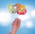 Hand with balloons - PhotoDune Item for Sale