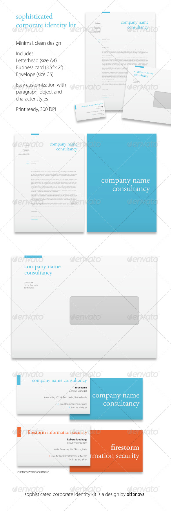 Corporate Identity Kit - Stationery Print Templates