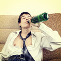 Young Man in Alcohol Addiction - PhotoDune Item for Sale