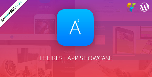 ThemeForest Appica 2 WordPress App Showcase Theme 11226711