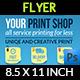 Print Shop Flyer Template - GraphicRiver Item for Sale
