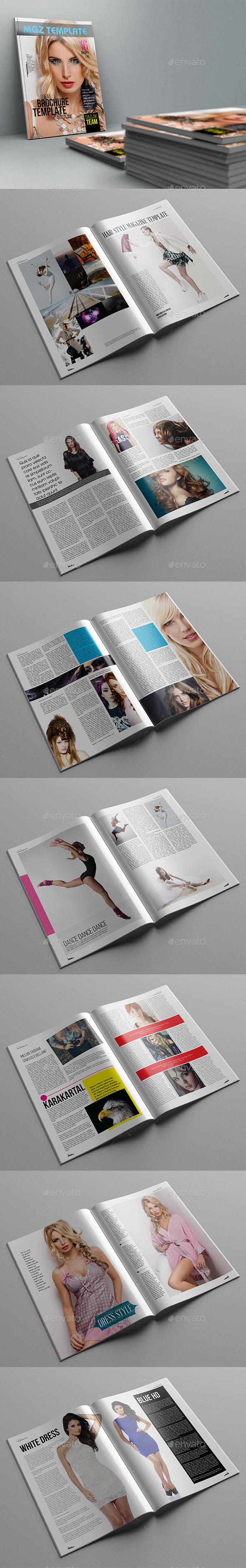 GraphicRiver Mgz Magazine Template 11339783